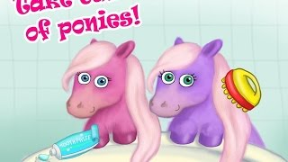 Pony Sisters in Magic Garden TutoTOONS Educational Android İos Free Game GAMEPLAY VİDEO