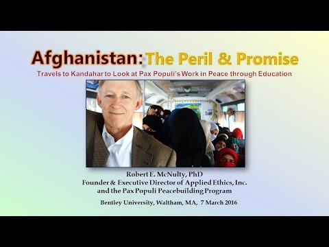 Pax Populi in Afghanistan: Traveling to Kandahar to Advance Peace through Education