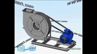 Вентилятор ВР 129-28.1-6,3 (В-Ц6-28-6,3)