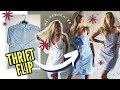 3 Kleider aus Herrenhemden nähen | 3 Methoden! (Reformation Cami Dress THRIFT FLIP)
