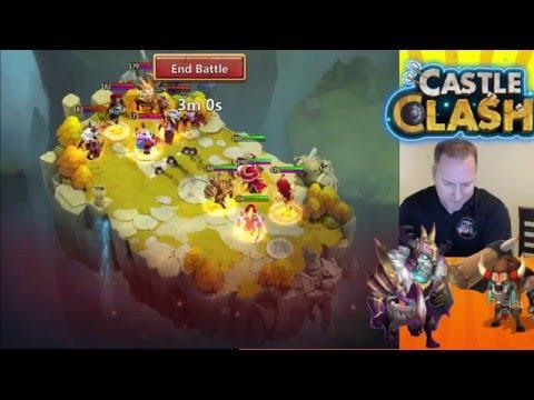 Castle Clash Valentina And ThrustinBeaver Returns