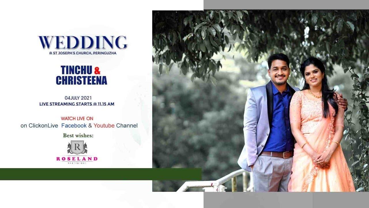 Download Wedding Ceremony    Tinchu & Christeena    04.07.2021    Roseland 9447 183 093