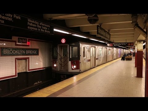 The New York City Subway in Manhattan