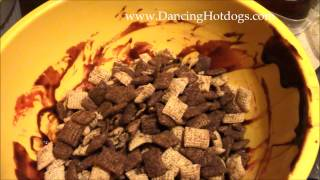 Red Velvet Chex Party Mix