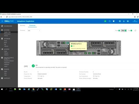 Dell EMC Unity Unisphere and CloudIQ Demo with Wei Chen