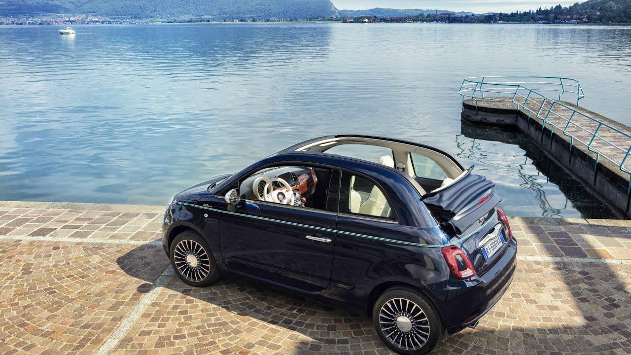 2016 Fiat 500 Riva Interior, Exterior and Drive
