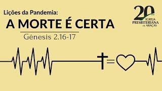 Escola Bíblica Dominical - 21/06/2020