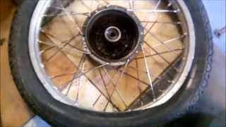 Oprava zadního kola simson s51