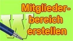 MAGIX Web Designer - Mitgliederbereich erstellen [German/Deutsch] Tutorial [HD/720p]