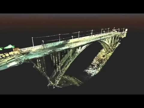 Terrestrial laser scanning Bridge application