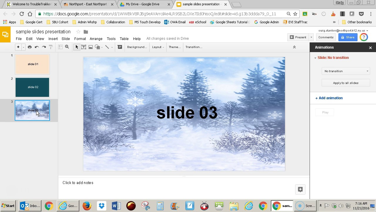 google slides how to add transitions youtube