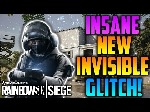 INSANE IQ INVISIBLE GLITCH! *AFTER PATCH* (TUTORIAL) - Rainbow Six Siege