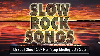 Nonstop Medley Love Songs 80's 90's Playlist - Best Slow Rock Love Song Nonstop