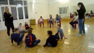 Актерские тренинги. Дети 7 лет, первое занятие. Театр-студия