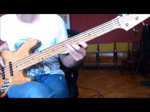 [bass cover] Weather Report - Barbary Coast (Jaco Pastorius)