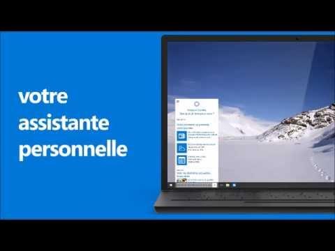 Publicité officielle pour Windows 10 en français