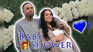 OUR BABY SHOWER!! (EMOTIONAL) | HEATHER AND TRELL