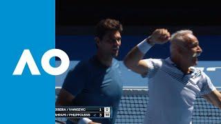 Ferreira/Ivanisevic v Bahrami/Philippoussis match highlights (2R) | Australian Open 2019