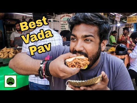 download Mumbai's Best Vada Pav    Indian Street Food Series   Veggiepaaji