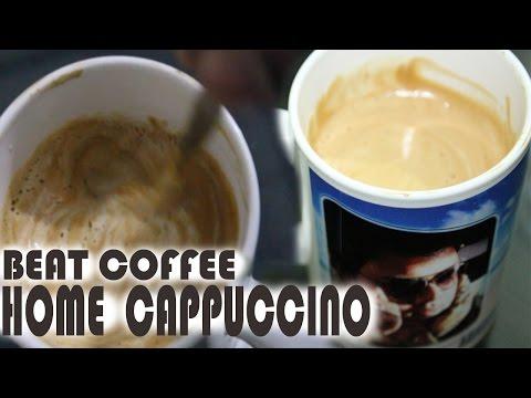 Make A Beat Coffee : Home cappuccino