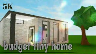 [NO GAMEPASSES] Budget tiny home   5K   Roblox Bloxburg