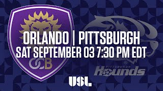 Orlando City II vs Pittsburgh Riverhounds full match