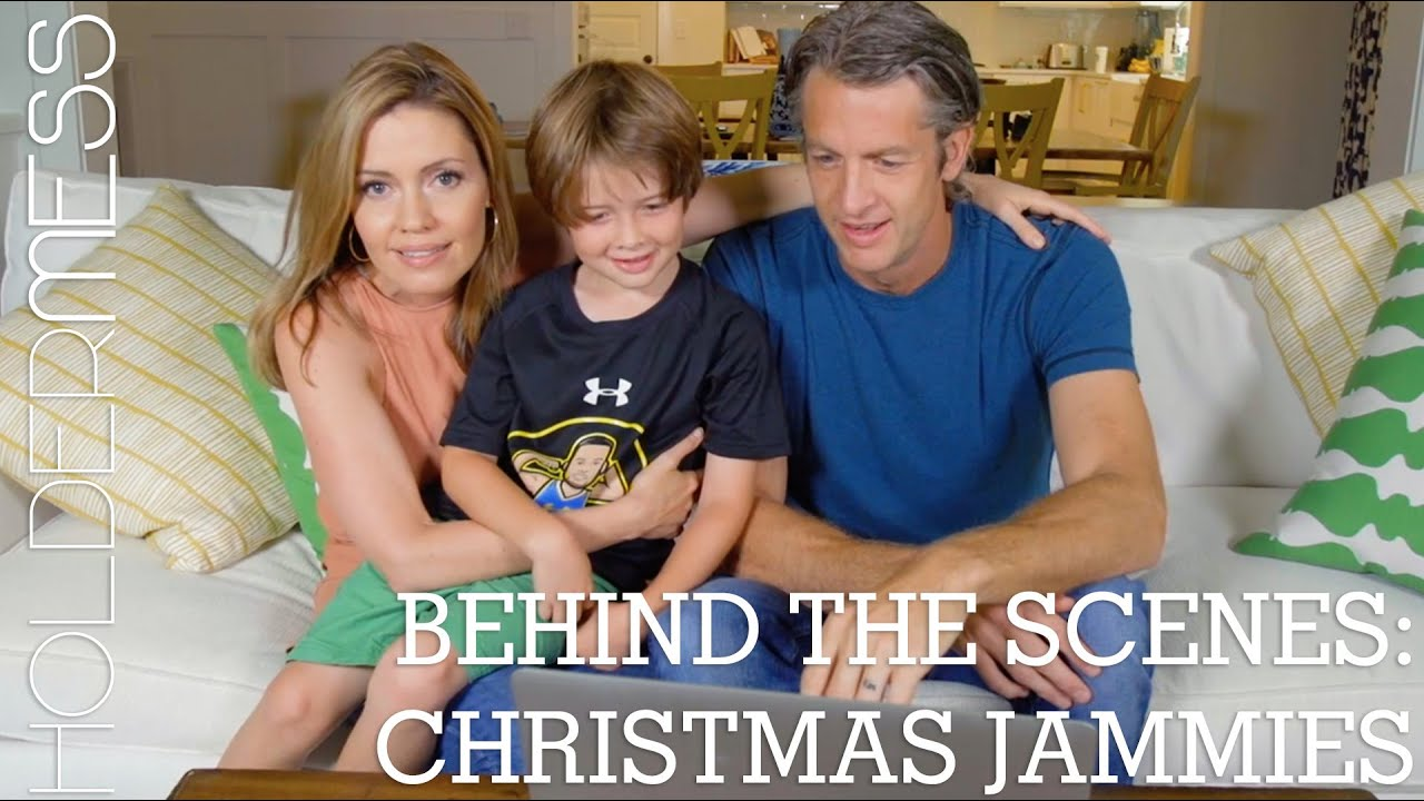 Behind the Scenes: Christmas Jammies | The Holderness Family - YouTube