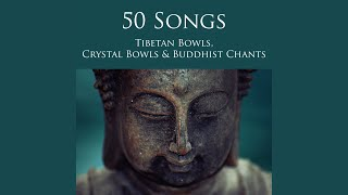 Monks Chanting Om and Crystal Wind Bells