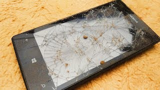 Restoration Microsoft's heavily damaged old phone| Restore phone running windows phone system