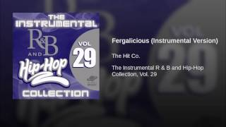 Fergalicious (Instrumental Version)