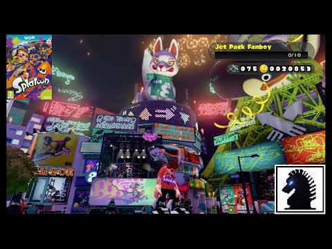 Wii U Splatoon - The 12th European Splatfest - Hoverboard vs Jet Pack