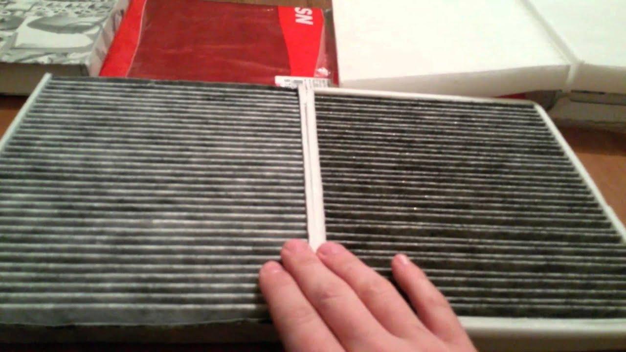 Замена салонного фильтра в Volkswagen Polo. Угольный или пылевой. Оригинальный или не оригинальный.