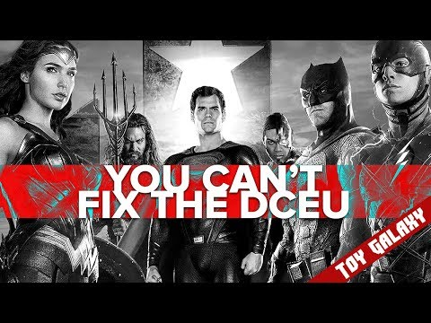 You Can't Fix The DC Cinematic Universe