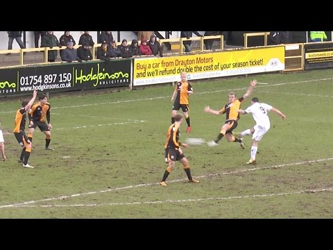 Jack Ryan Pulls Off An Impressive Volley For the First Goal