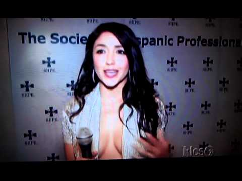 YVETTE YATES presents at SHPE's STAR AWARDS 2011Hispanic Lifestyle