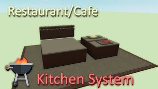 Restaurant Cooking System | Roblox