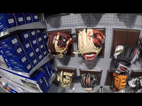 Dicks Sporting Goods Baseball Gloves  AND Buying NEW Shoes FINALLY