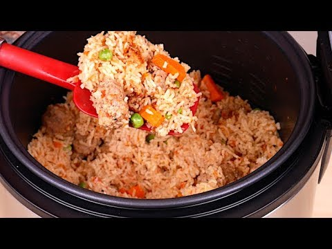 Rice Cooker One Pot Meal Recipe