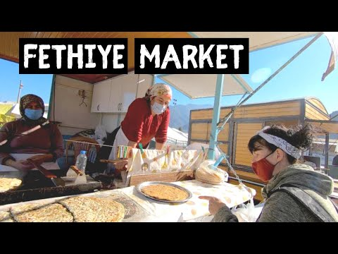 FETHIYE | Amazing TURKISH Food Market | Turkey Travel Series