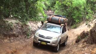team great wall, telegraph track,cape york part 2