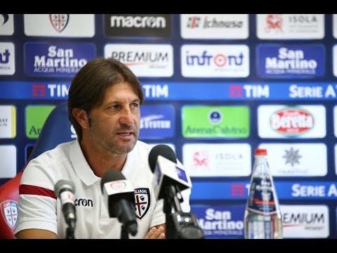 Cagliari-Genoa, la conferenza stampa pre-partita