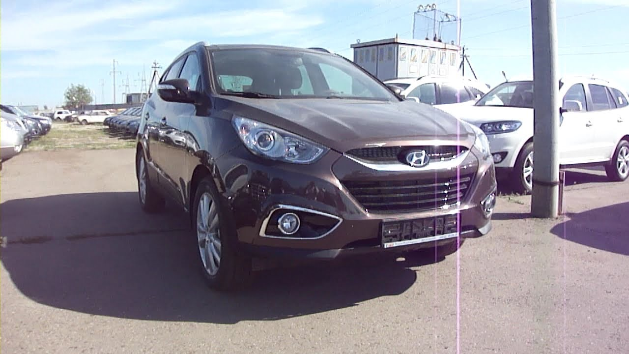 2011 hyundai ix35 start up engine and in depth tour youtube. Black Bedroom Furniture Sets. Home Design Ideas