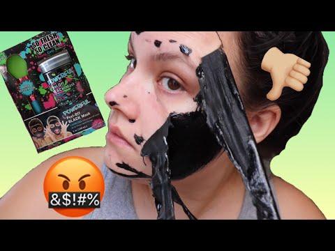 SO FRESH SO CLEAN POWERFUL PEEL OFF BLACK MASK | HONEST REVIEW