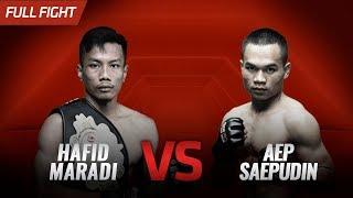 [HD] Hafid Maradi vs Aep Saepudin || One Pride FN #33