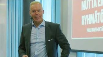 CEO Pauli Aalto-Setälä – Ideasta innostukseen, toteutuksesta menestykseen