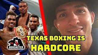 Alfonso Lopez III Tells The Secret of Texas Boxing and More! | Boxcaster Interview