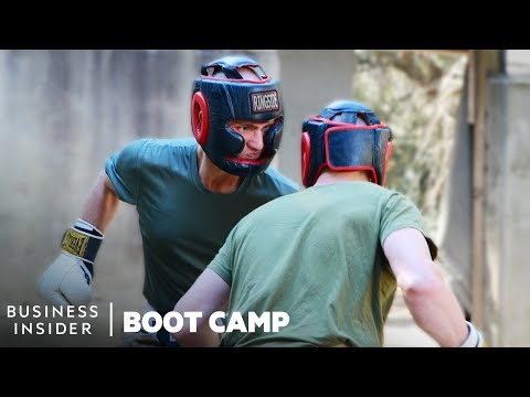 How Marines Test Hand-To-Hand Combat Skills At Boot Camp