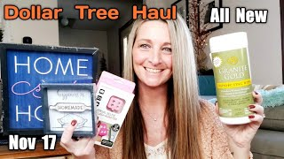 Dollar Tree Haul 💕 All New Items💕 Trying out Products/ Nov 17