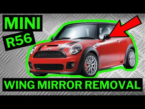 Bmw Mini R56 Wing Mirror Removal Youtube