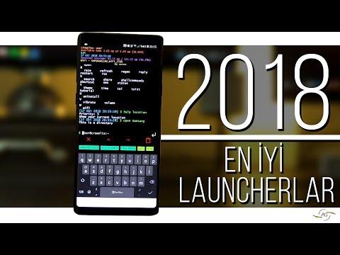 2018'in En İyi Android Launcher'ı?